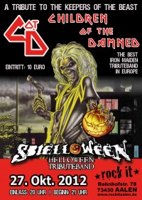 Flyer - Children Of The Damned + Sbielloween + Guests