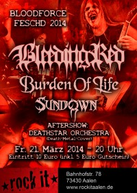 Flyer - Bloodforce Feschd