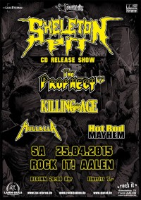 Flyer - Skeleton Pit - CD Release Show