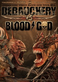 Flyer - Debauchery vs. Blood God