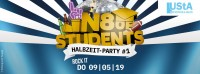 Flyer - N8 of Students - Halbzeit Party #1