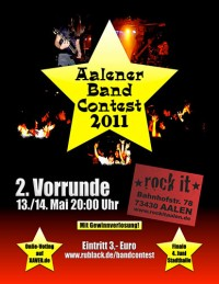 Flyer - Aalener Band-Contest IV